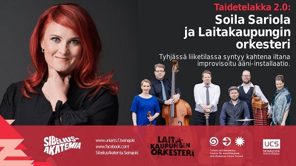 LKO & Soila Sariola: Taidetelakka 2.0